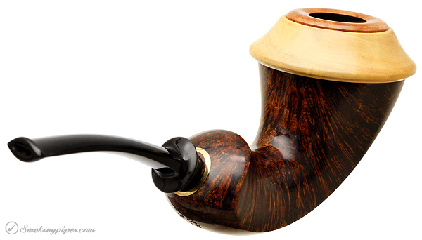 J. Alan Pipes Smooth Calabash with Boxwood
