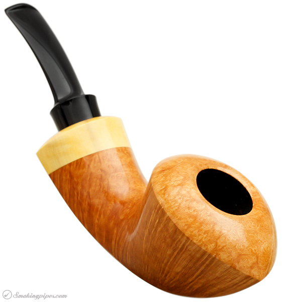 J. Alan Pipes Smooth Nautical Bent Dublin with Boxwood (972)