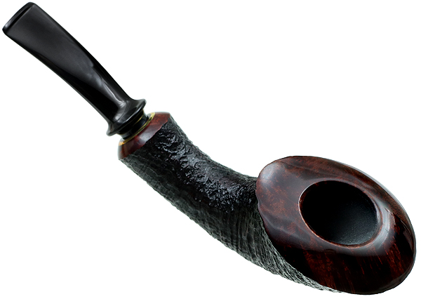 J. Alan Pipes Partially Sandblasted Horn (1055)