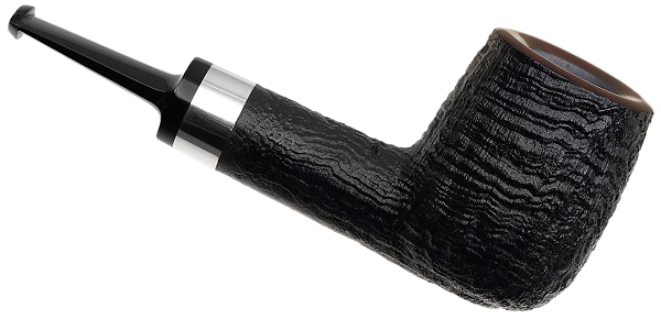 J. Alan Pipes Sandblasted Liminal Billiard with Silver (1130)