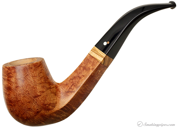 Luciano Smooth Light Brown (23) with Olive Wood