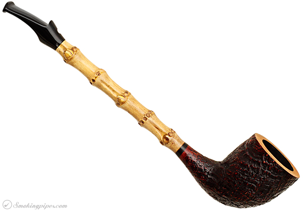 Luciano Sandblasted B-Fast Cutty with Bamboo (15B) (S)
