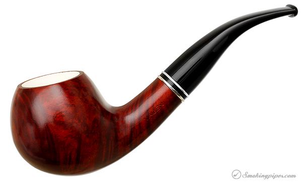 Vauen Meerschaum Lined 7008N Apple Bent Tobacco Pipe
