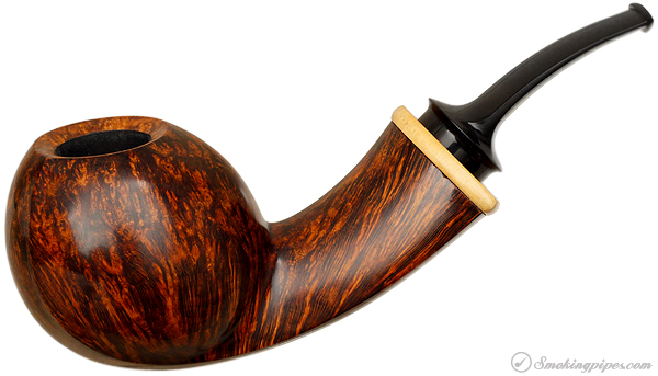 Ernie Markle Smooth Bent Apple with Boxwood