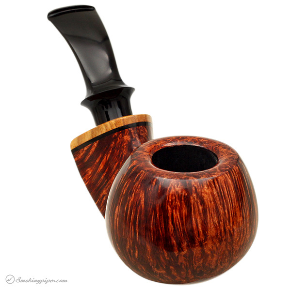 Grechukhin Smooth Bent Chubby Apple with Olivewood