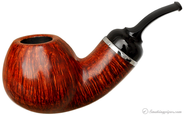 Grechukhin Smooth Bent Brandy with Silver