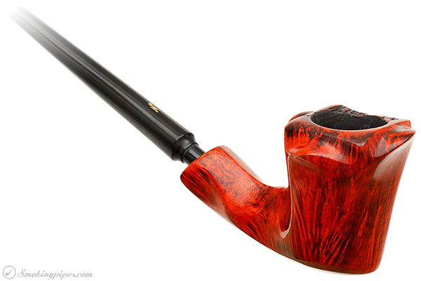 Nording Orange Grain Freehand Churchwarden (2)