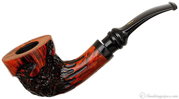 Royal Flush Partially Rusticated Bent Dublin (Jack)