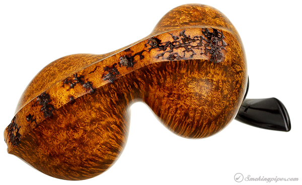 Scott Klein Smooth Reverse Calabash Freehand with Plateau