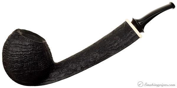 Bruce Weaver Sandblasted Long Shank Blowfish with Mastodon
