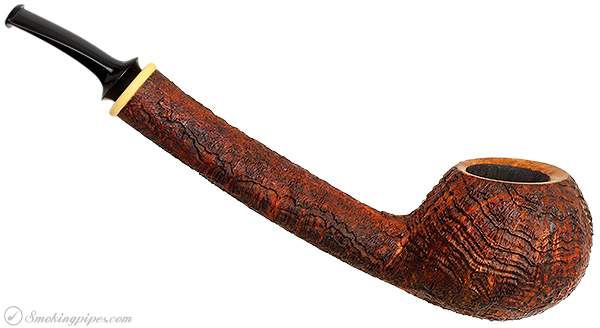 Bruce Weaver Sandblasted Bent Apple with Boxwood