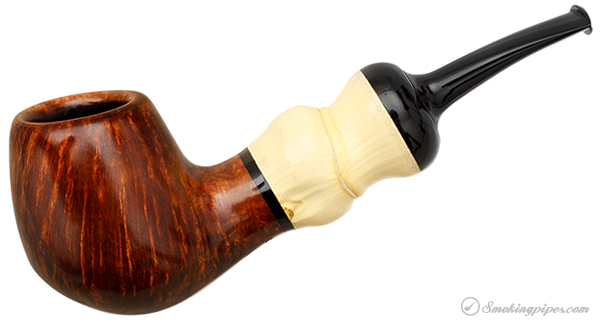 Chris Asteriou Smooth Bent Billiard with Buddha Belly Bamboo
