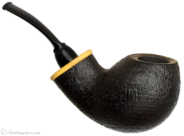 Wolfgang Becker Sandblasted Bent Apple with Boxwood (Wolf Paw)
