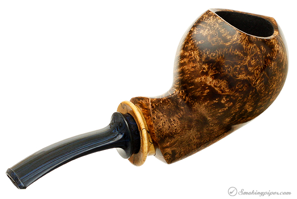 G. Batson Smooth Sharp-Tooth Snail with Spalted Maple