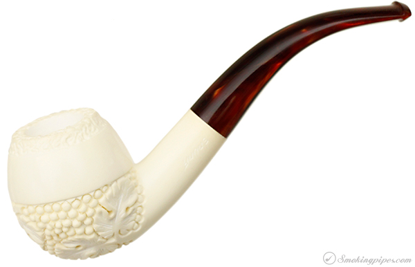 AKB Meerschaum Carved Bent Apple (with Case)