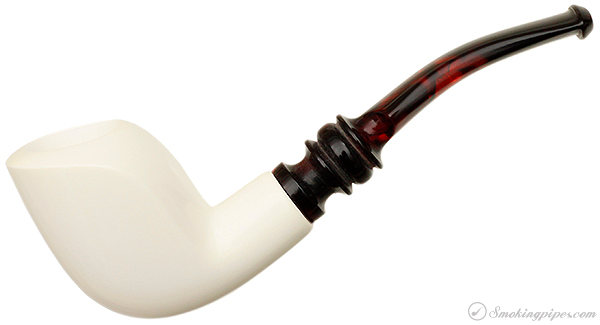 AKB Meerschaum Smooth Freehand (with Case)