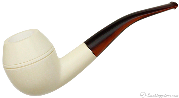 AKB Meerschaum Smooth Rhodesian (with Case)