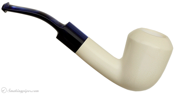 AKB Meerschaum Smooth Bent Dublin (with Case)