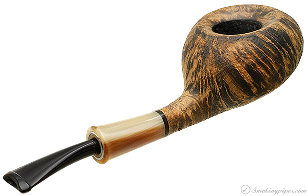 Gamboni Sandblasted Half Bent Tomato with Horn (Hole in One) (14/01)