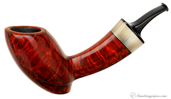 Nate King Smooth Elephants Foot with Horn