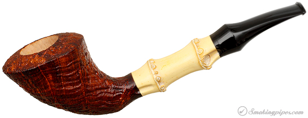 Scott Thile Sandblasted Bent Dublin with Bamboo (FH) (267)