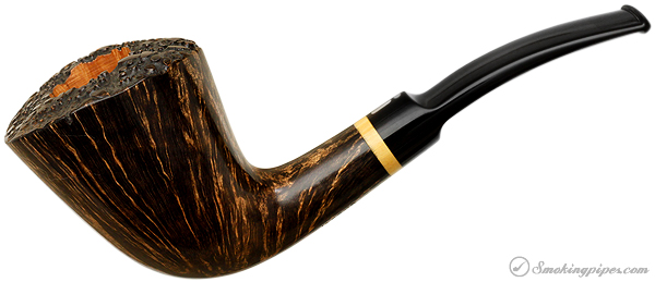Jacono Rook Bent Dublin with Boxwood  (Checkmate)