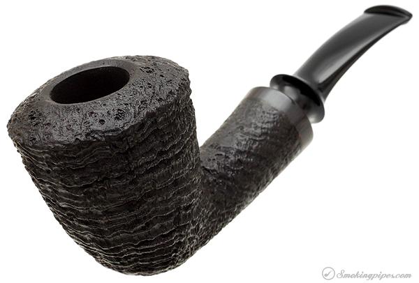 Tsuge Ikebana Sandblasted Bent Dublin with Horn (E)
