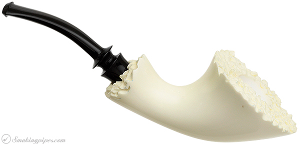 WGM Meerschaum Smooth Horn (with Case)