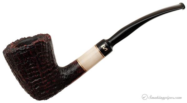 Stanwell Brazilia Sandblasted Bent Dublin with Horn