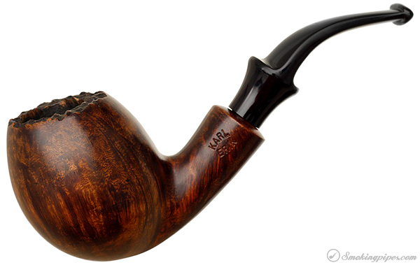 Karl Erik Smooth Bent Egg with Plateau