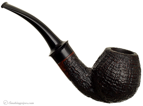 Danish Estate Tom Eltang Sandblasted Bent Apple (Saturn)