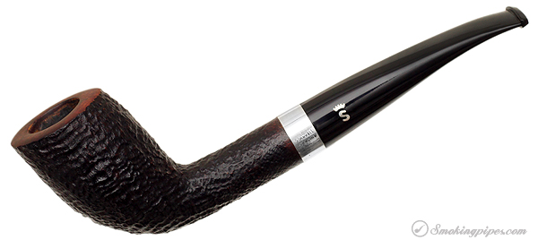 Stanwell Sandblasted Cutty with Silver Band (9mm)