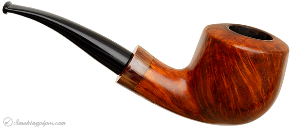 Danish Estate Bjarne Nielsen Smooth Bent Apple (J)