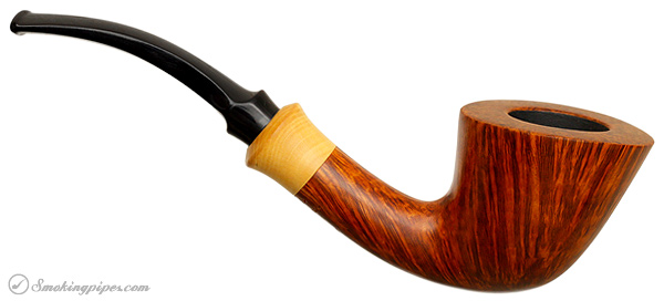 Danish Estate Teddy Knudsen Smooth Bent Dublin with Boxwood (Unsmoked)