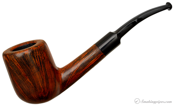 Danish Estate Ben Wade PC184 Smooth Bent Billiard (0049) (Unsmoked)