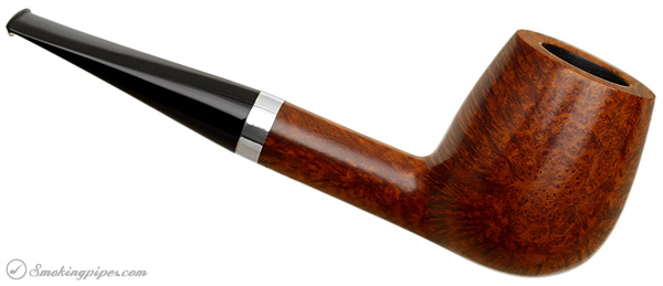 Danish Estate Former Handmade Smooth Billiard with Silver (Unsmoked)