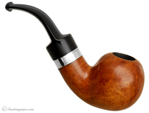 Danish Estate Tao and Ilsted Smooth Bent Apple with Silver (9mm) (Unsmoked)