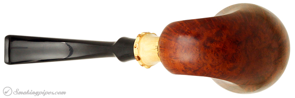 Danish Estate Tonni Nielsen Smooth Horn with Plateau and Bamboo (7) (Replacement Tenon)