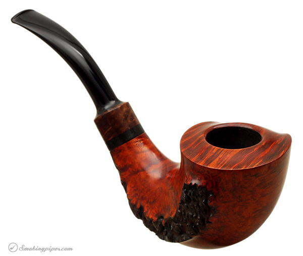 Danish Estate Tonni Nielsen Smooth Horn with Plateau (10) (Unsmoked)