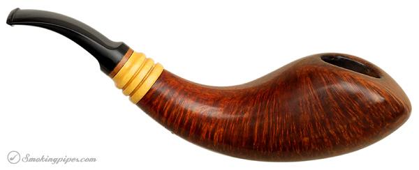 Danish Estate Bjarne Nielsen Handmade Smooth Horn (A)