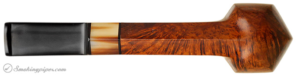 Danish Estate S. Bang Smooth Paneled Billiard with Horn (7) (9mm)