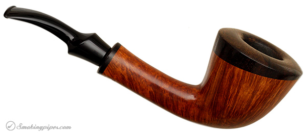 Danish Estate W. O. Larsen Smooth Bent Dublin with Cocobolo (Pearl)