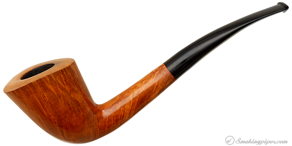 Bjarne Hand Carved Smooth Bent Dublin (Replacement Stem)
