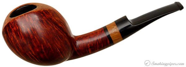 """Danish Estate Peter Heeschen Smooth Bent """"P"""" with Rosewood (B)"""