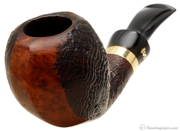 Danish Estate Stanwell Omega Partially Sandblasted Blowfish (9mm)