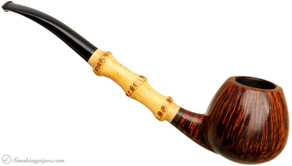Danish Estate Kurt Balleby Smooth Bent Apple with Bamboo (5)