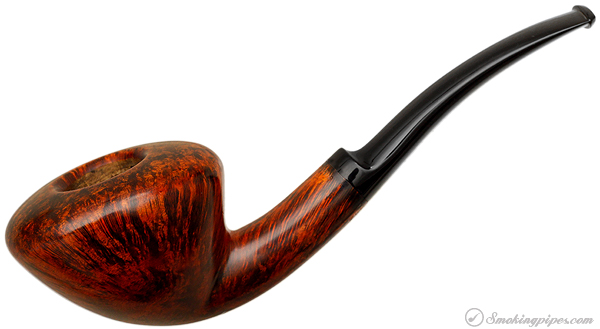Danish Estate W.O. Larsen Smooth Bent Dublin (Straight Grain) (F)