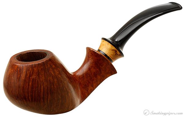 Danish Estate Kent Rasmussen Smooth Bent Apple with Mazur Birch (Two Star)