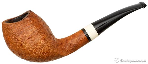 Danish Estate Peter Heeschen Sandblasted Cobra with Mastodon Ivory (S)