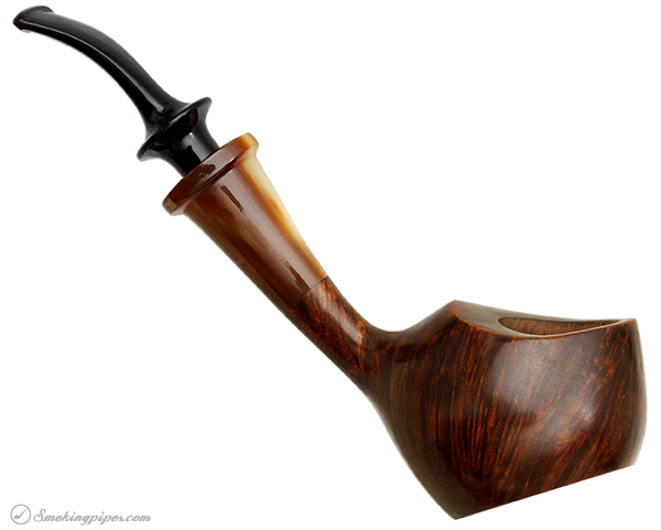 Danish Estate Flemming Petersen Smooth Sitter with Horn